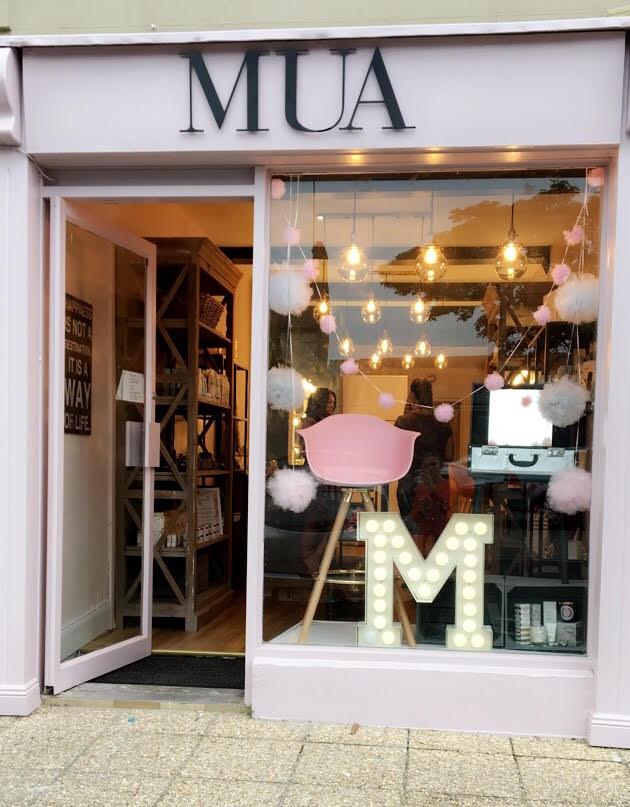 MUA Shop Front
